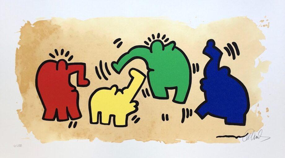 Otto Waalkes Hommage an Keith Haring