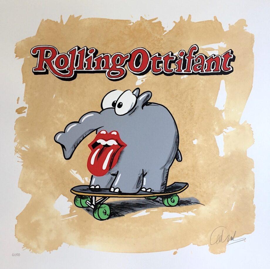 Otto Waalkes Rolling Ottifant