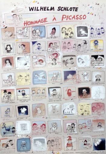 Wilhelm Schlote Hommage a Picasso