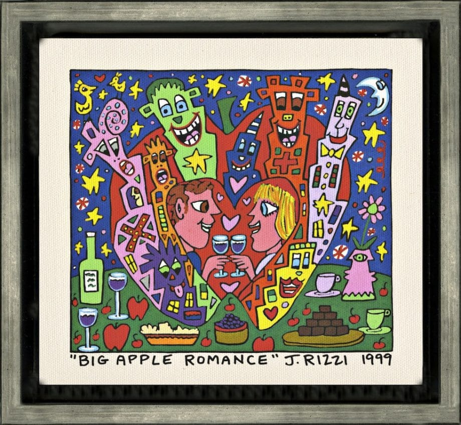 James Rizzi | Big Apple Romance