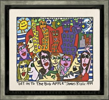 James Rizzi | Get into the Big Apple