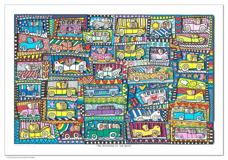 James Rizzi | The Romance of the Road