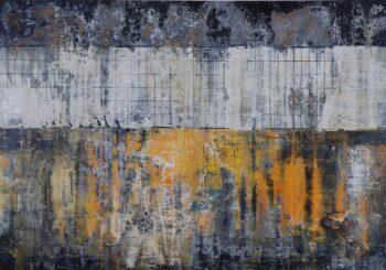 Armin Weinbrenner Holzrelieftafel Nr. 101