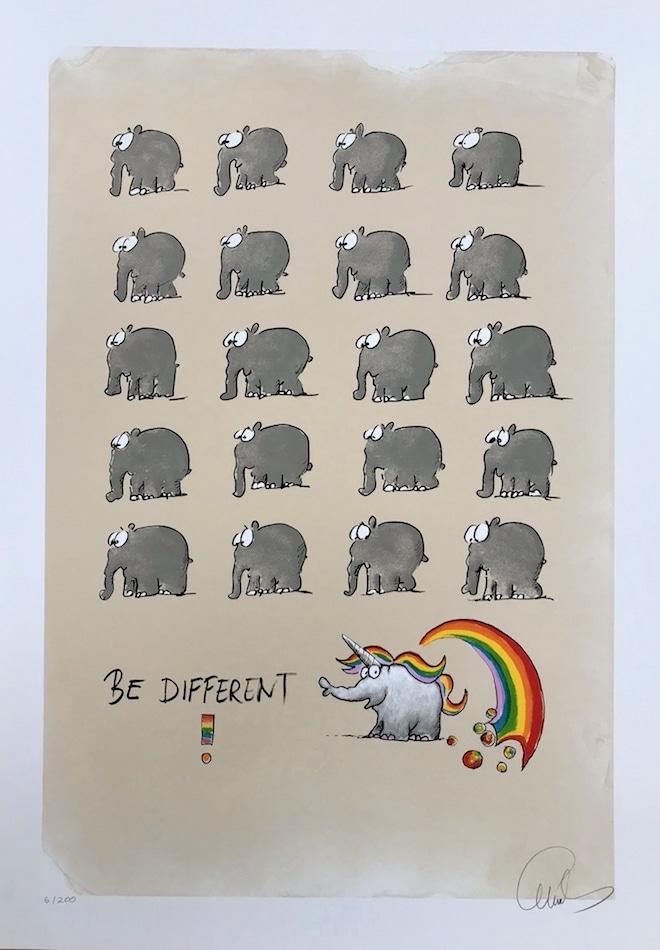 Otto Waalkes Be different (Einhorn)