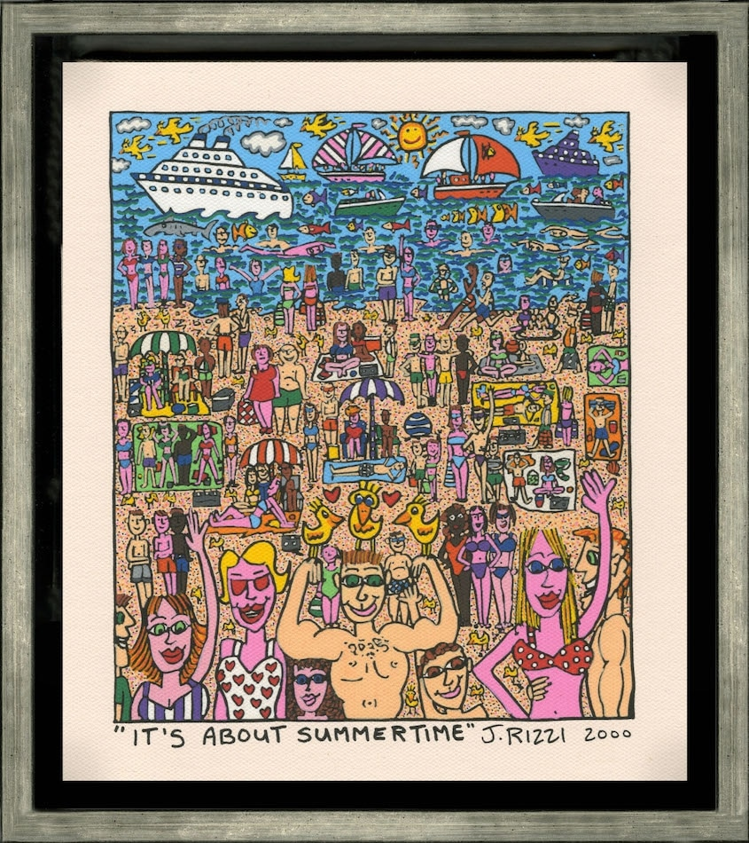 James Rizzi | It's about summertime
