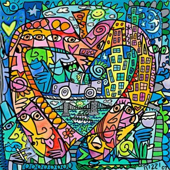 James Rizzi | My Heart lives in my Big Apple