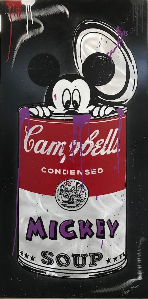 Michel Friess Mickey Soup Grey