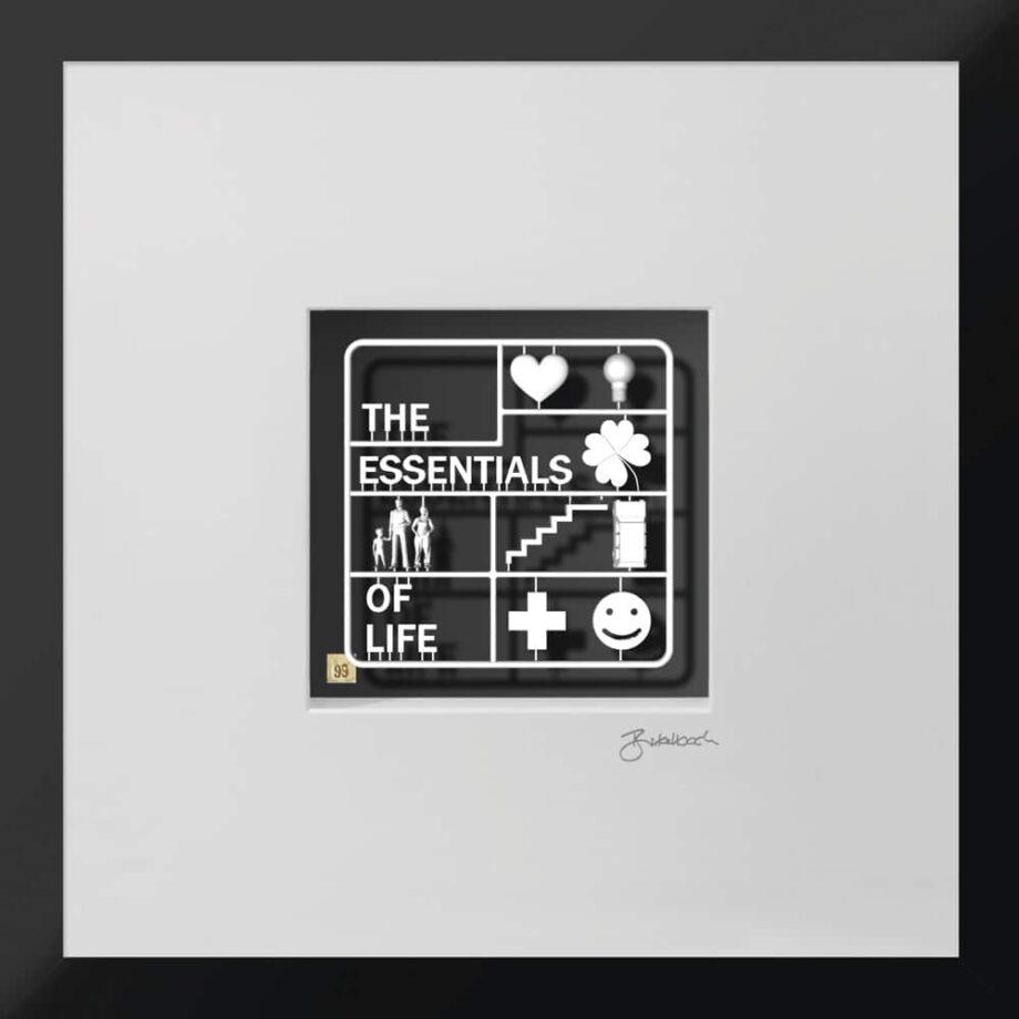 Ralf Birkelbach | Wortkunst | The Essentials of Life