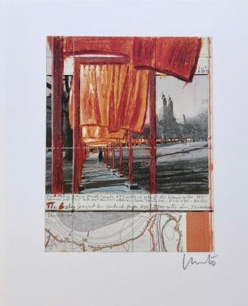 Christo | The Gates XXVIII (handsigniert)