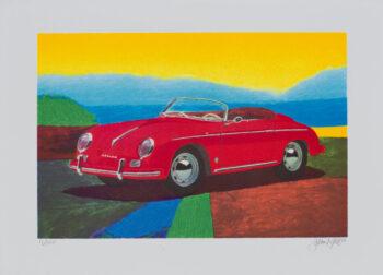 James Francis Gill Porsche 356 Speedster (gerahmt)