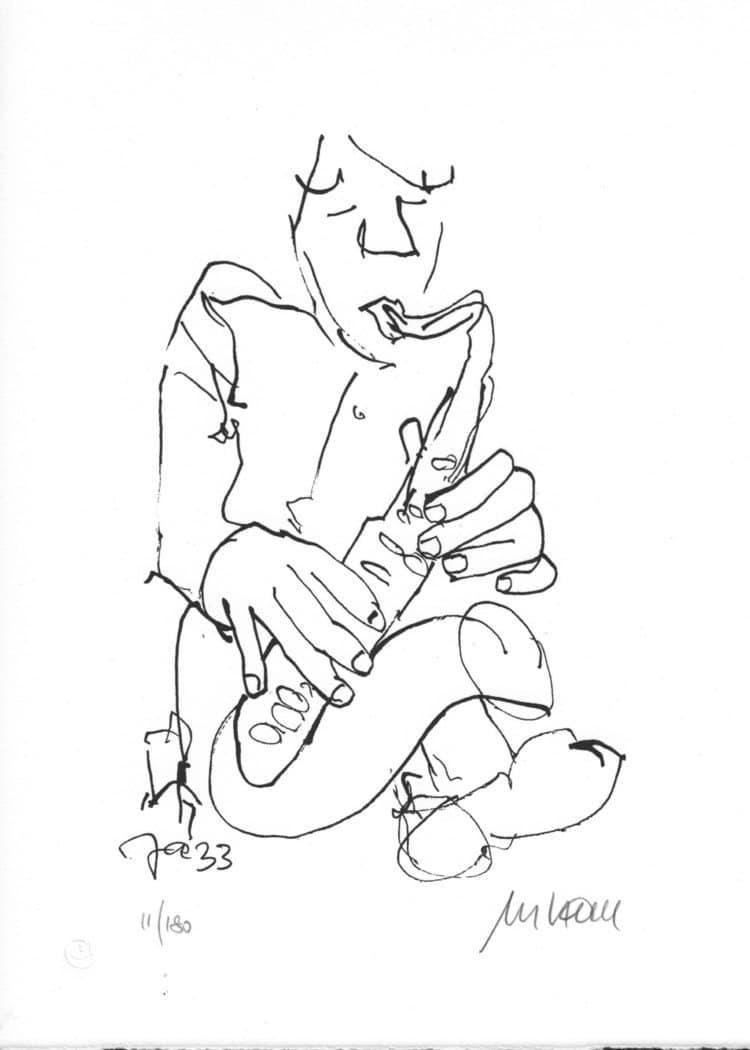 Armin Mueller-Stahl   Jazz - Saxophonist