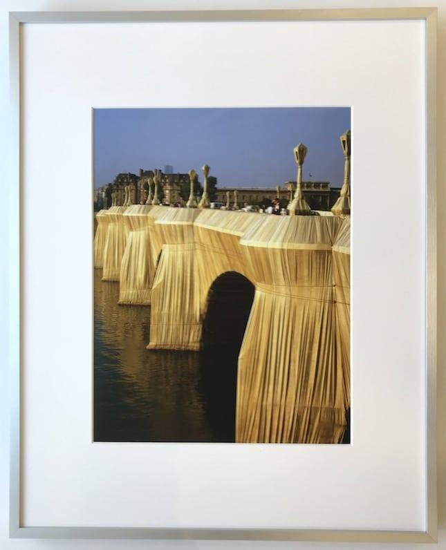 Christo | Pont Neuf - gerahmter Kunstdruck