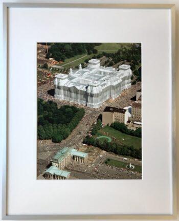 Christo | Verhüllter Reichstag - gerahmter Kunstdruck