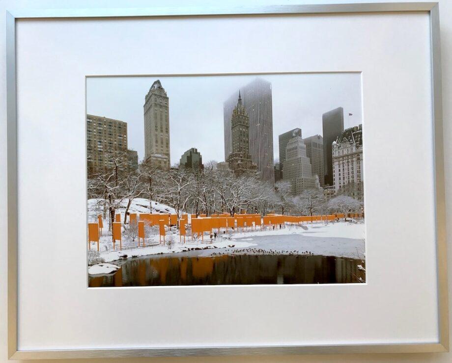 Christo | The Gates - gerahmter Kunstdruck