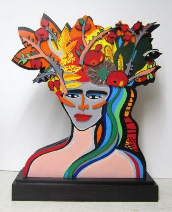 Elvira Bach | Earthly Paradiese - Skulptur