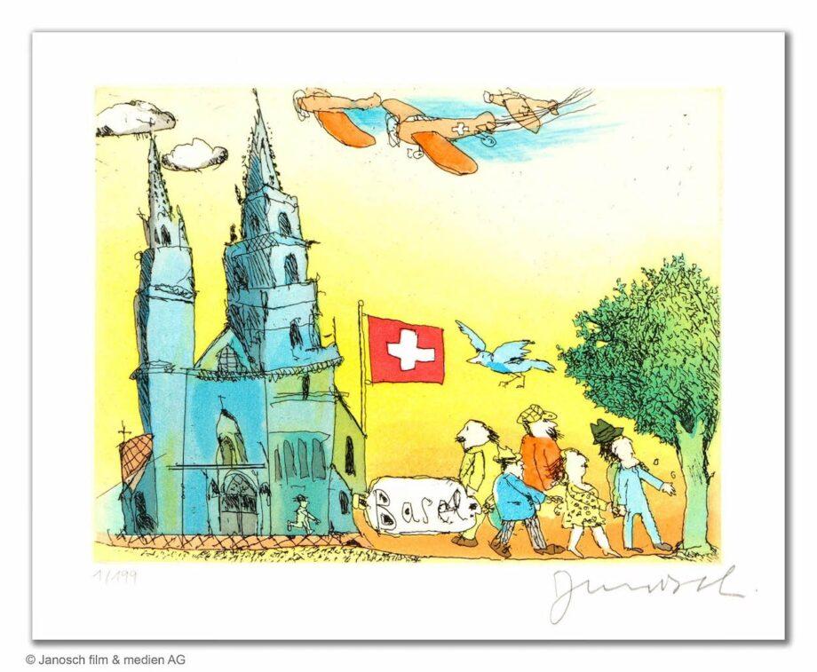 Janosch Basel und sein Münster