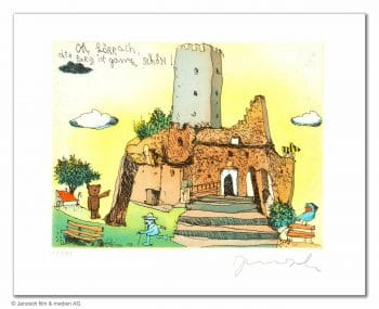 Janosch Oh Lörrach die Burg ist ganz schön