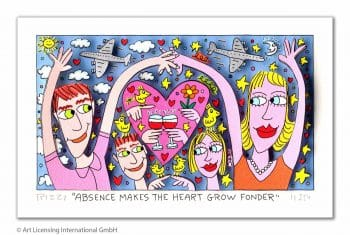 James Rizzi | Absence makes the heart grow fonder