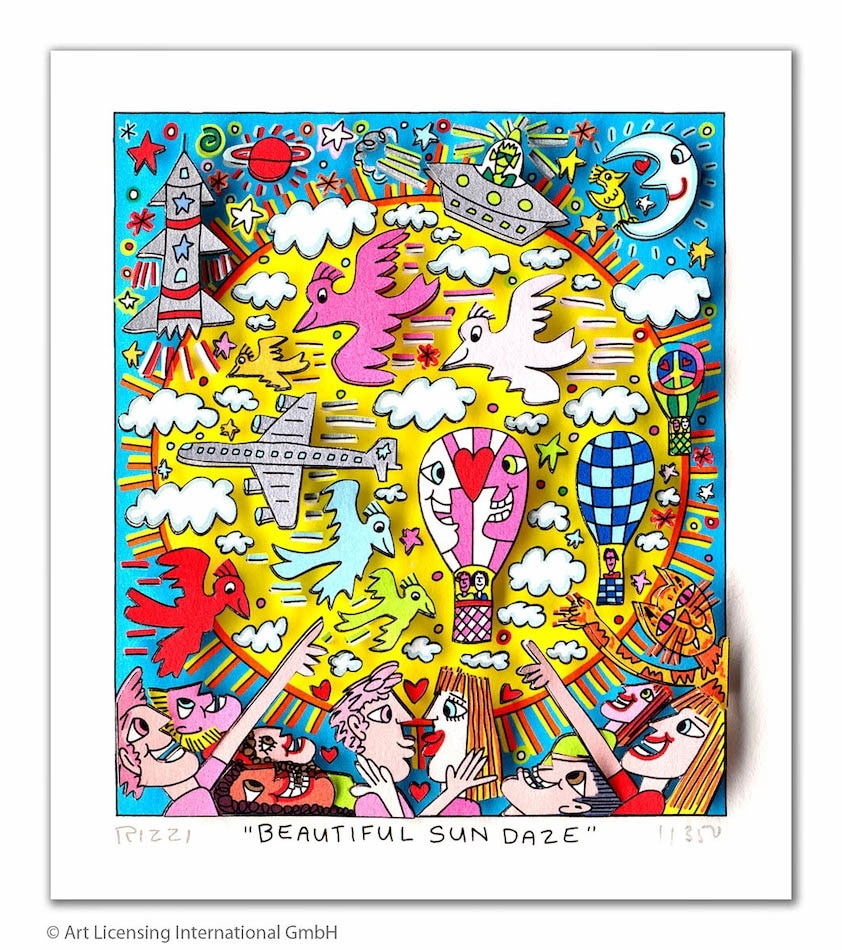 James Rizzi | Beuatiful Sun daze