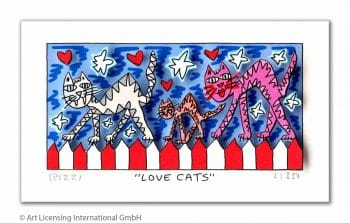 James Rizzi | Love Cats