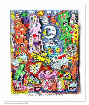 James Rizzi | Love makes a City pretty