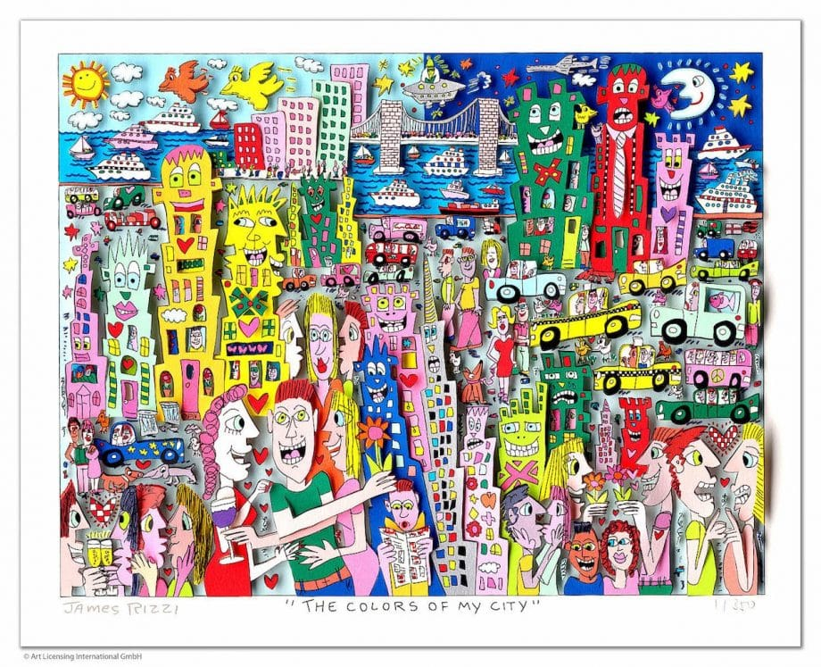 James Rizzi | The Colors of my city