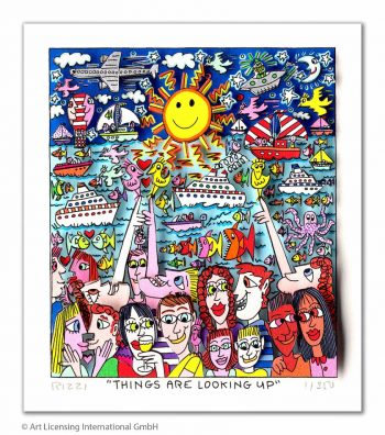 James Rizzi | Things are looking up