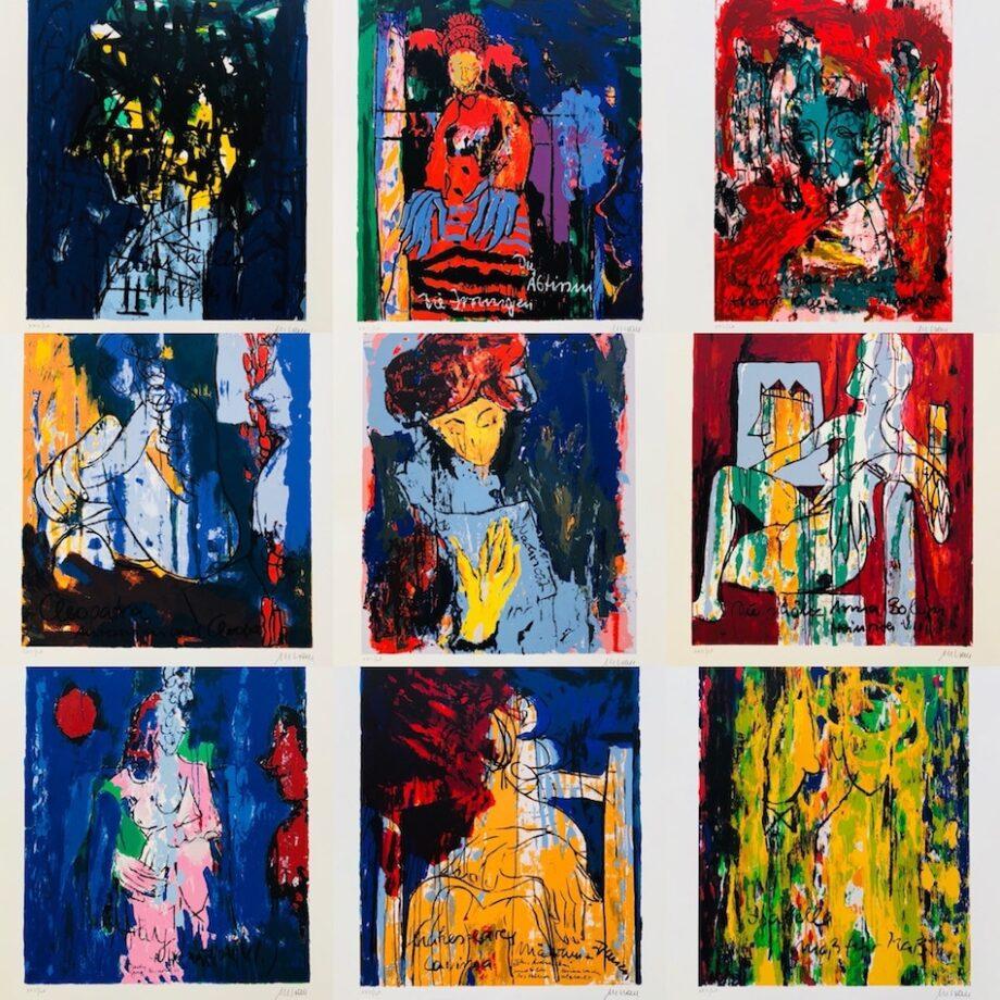 Armin Mueller-Stahl | Shakespeares Mädchen und Frauen (Mappenwerk)