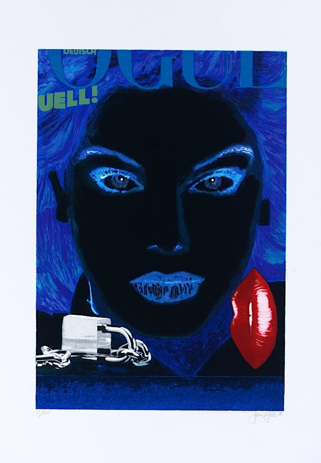 James Francis Gill German Vogue 2