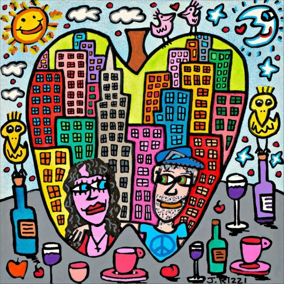 James Rizzi | You are the apple of my eye