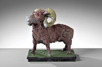 Markus Lüpertz | Widder - Bronze-Skulptur