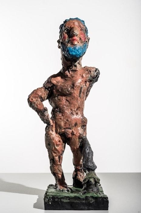 Markus Lüpertz Herkules - Bronze-Skulptur