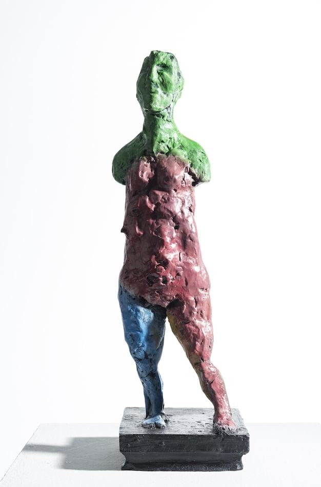 Markus Lüpertz Susanna - Bronze-Skulptur