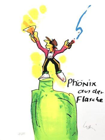 Udo Lindenberg | Phönix aus der Flasche - Siebdruck