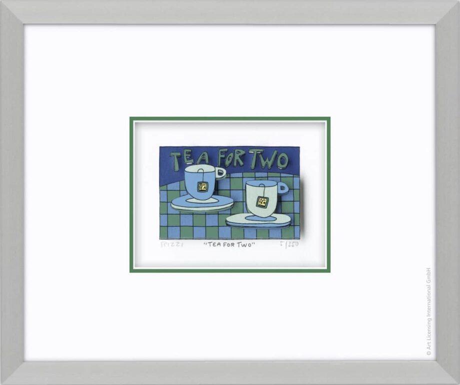 James Rizzi | Tea For Two (gerahmt)