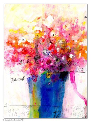Janosch | Blumenstrauß (gerahmt)