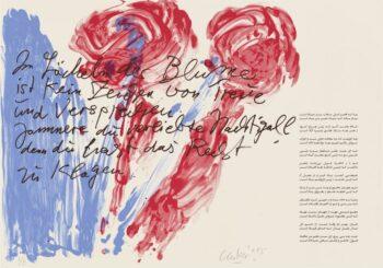 Günther Uecker | Huldigung an Hafez 2