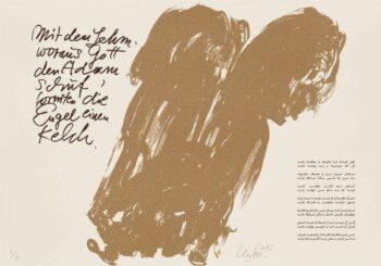 Günther Uecker | Huldigung an Hafez 17