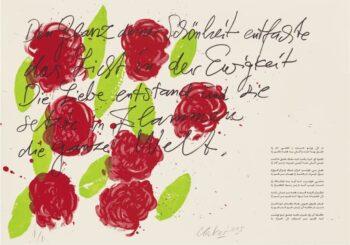 Günther Uecker | Huldigung an Hafez 23