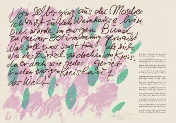 Günther Uecker | Huldigung an Hafez 29