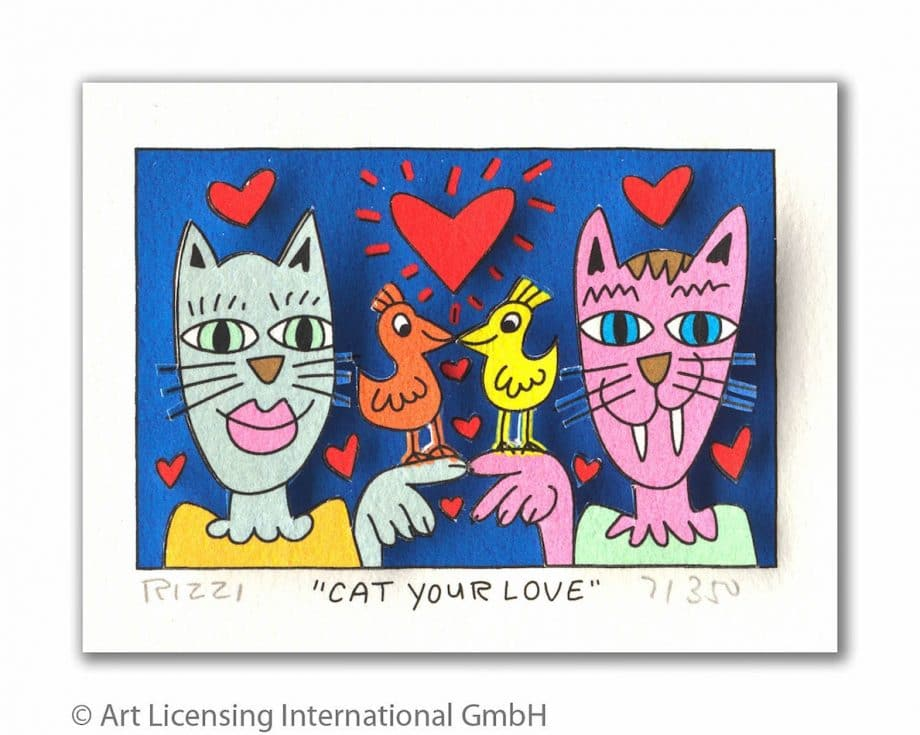 James Rizzi | Cat your love