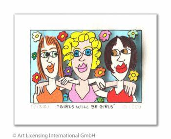 James Rizzi | Girls will be girls