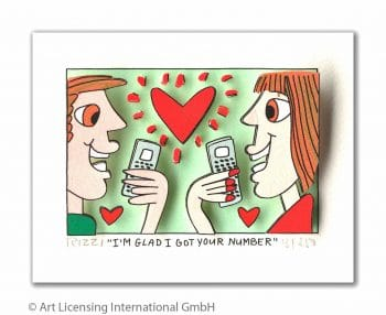 James Rizzi | I'm glad I got your number