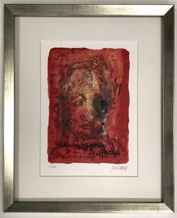 Armin Mueller-Stahl | Johann Wolfgang von Goethe (gerahmt)