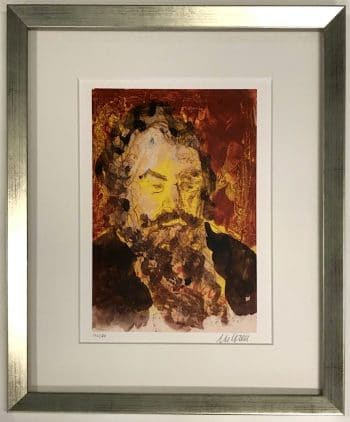 Armin Mueller-Stahl | Johannes Brahms (gerahmt)