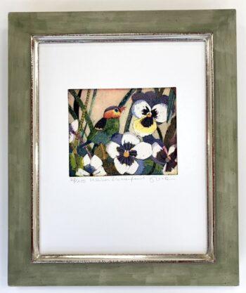 Jutta Votteler | Kleiner Blumenfreund (gerahmt)