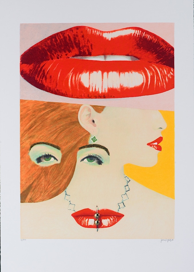 James Francis Gill Her Lips are sealed