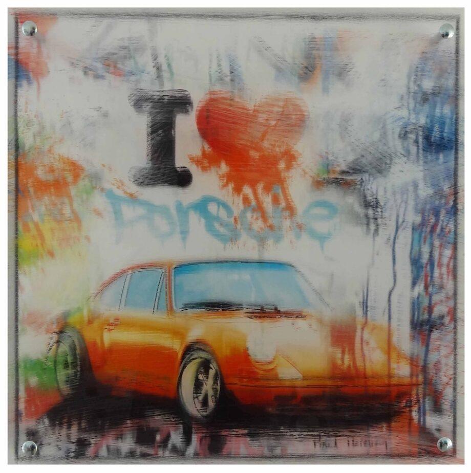 Paul Thierry I love Porsche