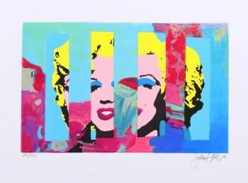 James Francis Gill | Marilyn in the sky 5