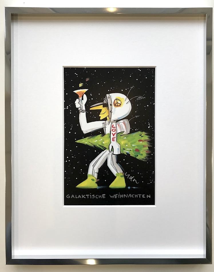 Udo Lindenberg Galaktische Weihnachten (gerahmt)